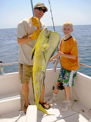 San Carlos deep sea fishing