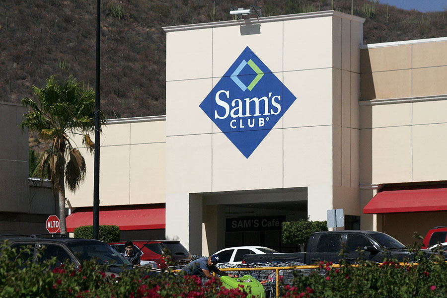 Sam's Club in Guaymas, Sonora, Mexico
